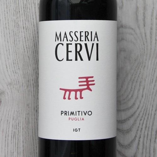 Masseria Cervi wine label