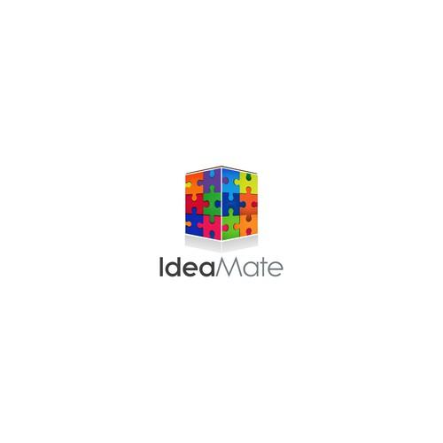 logo concept for a platform for capturing ideas (without light bulb)