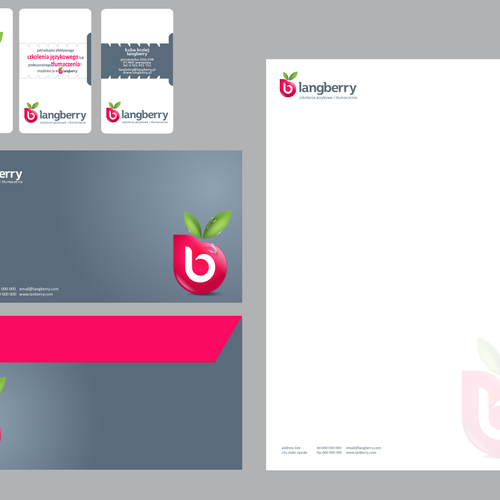 New stationery wanted for langberry