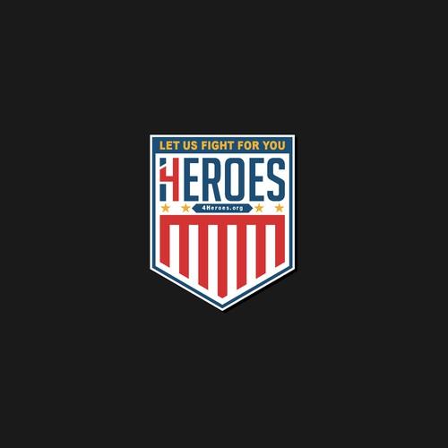 Emblem logo for 4Heroes INC