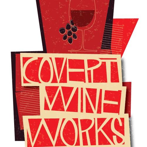 Wine bar illustration