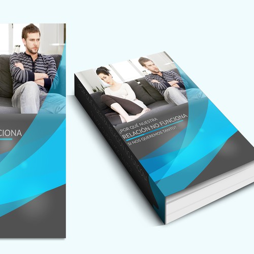 Colabora con tu diseño para salvar parejas, Create a cover for a self help book for couples