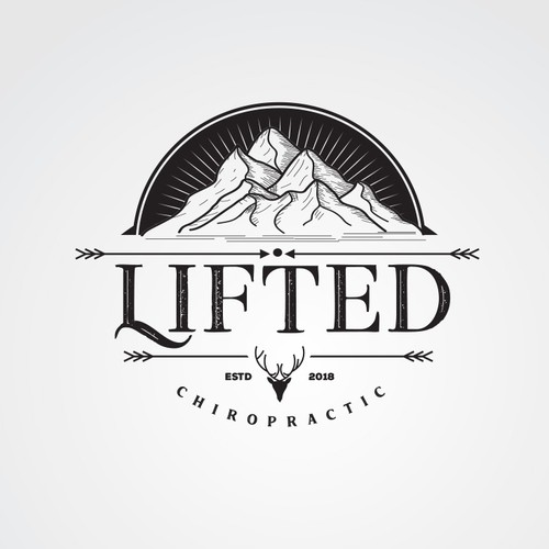 LIFTED Chiropractic ( logo concept)