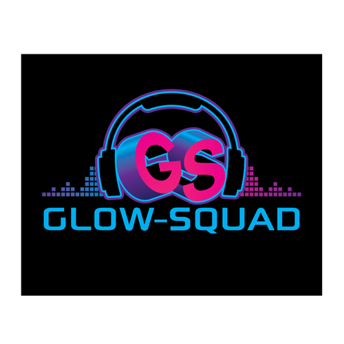 Logo Design for Glow-Squad DJ