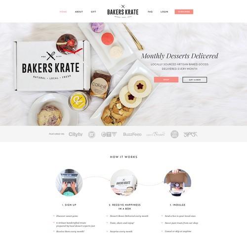 Web Design for a Delicious Online Bake Shop
