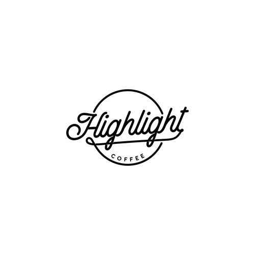 LOGOTYPE for HIGHLIGHT COFFEE