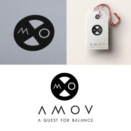logo for Amov textile