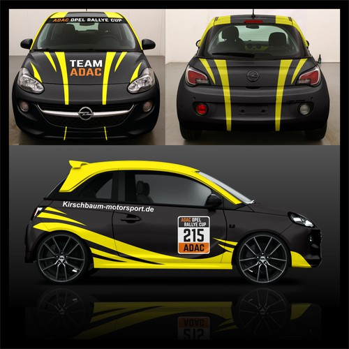 wrapping TEAM ADAC