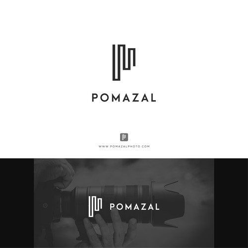 Logo for commercial photographer