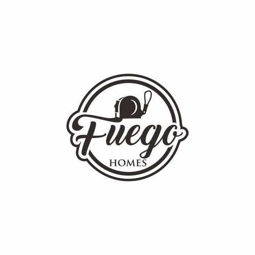 Logo design for fuego homes