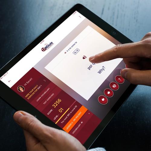 Language App for iPad