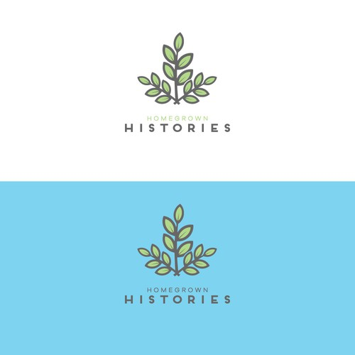 welcoming logo for Homegrown Histories