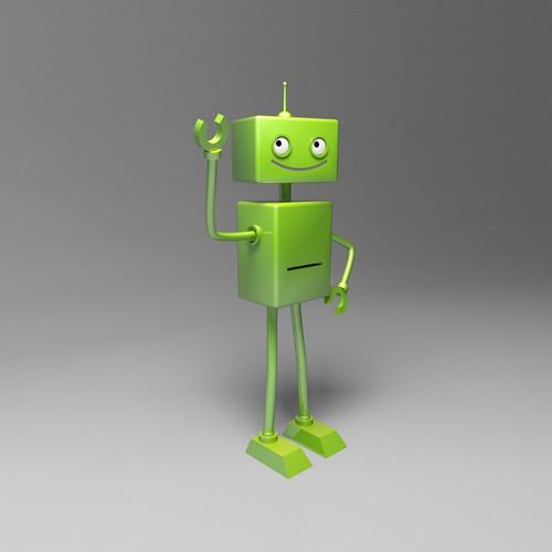 Robotic mascot