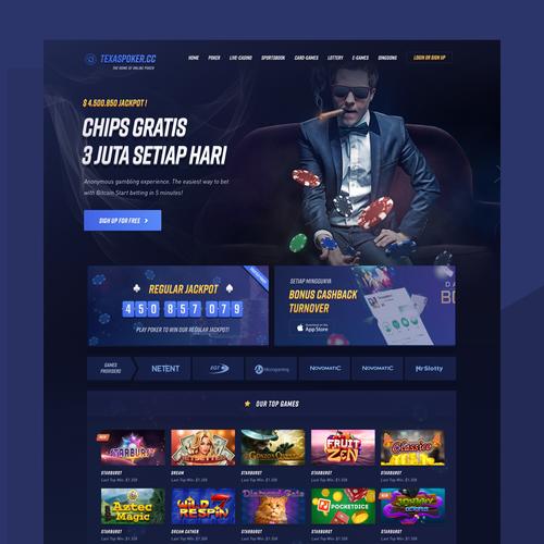 TexasPoker Casino Website