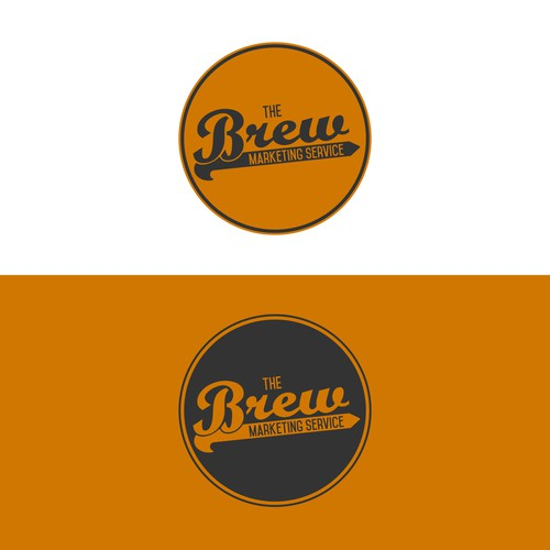 A bold logo with a brewery feel.