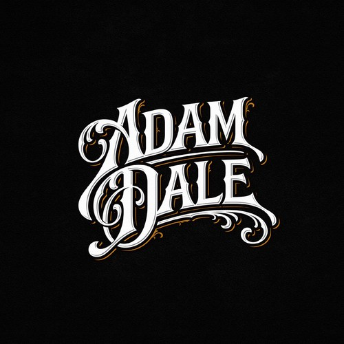 Lettering design suggestion for Adam Dale