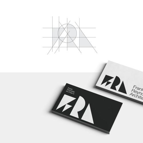 FRA, Frank Reynolds Architects Logo and Brand Identity Design