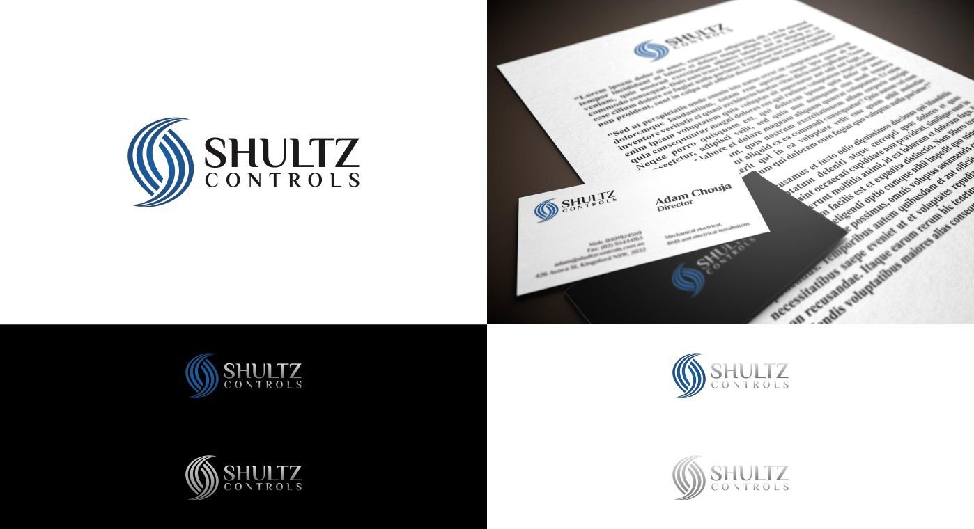 Help Shultz Controls with a new logo and business card