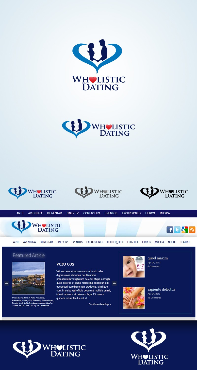 Create the next logo for Wholistic Dating