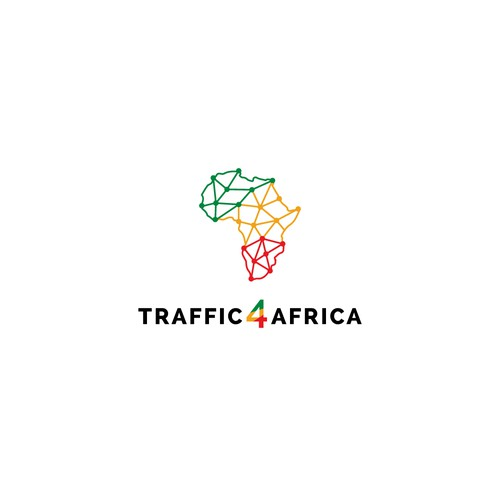 Winning logo concept for Traffic 4 Africa