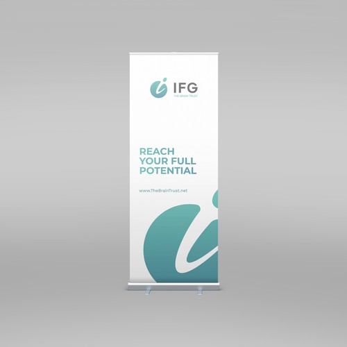 Roll Up Banner for IFG
