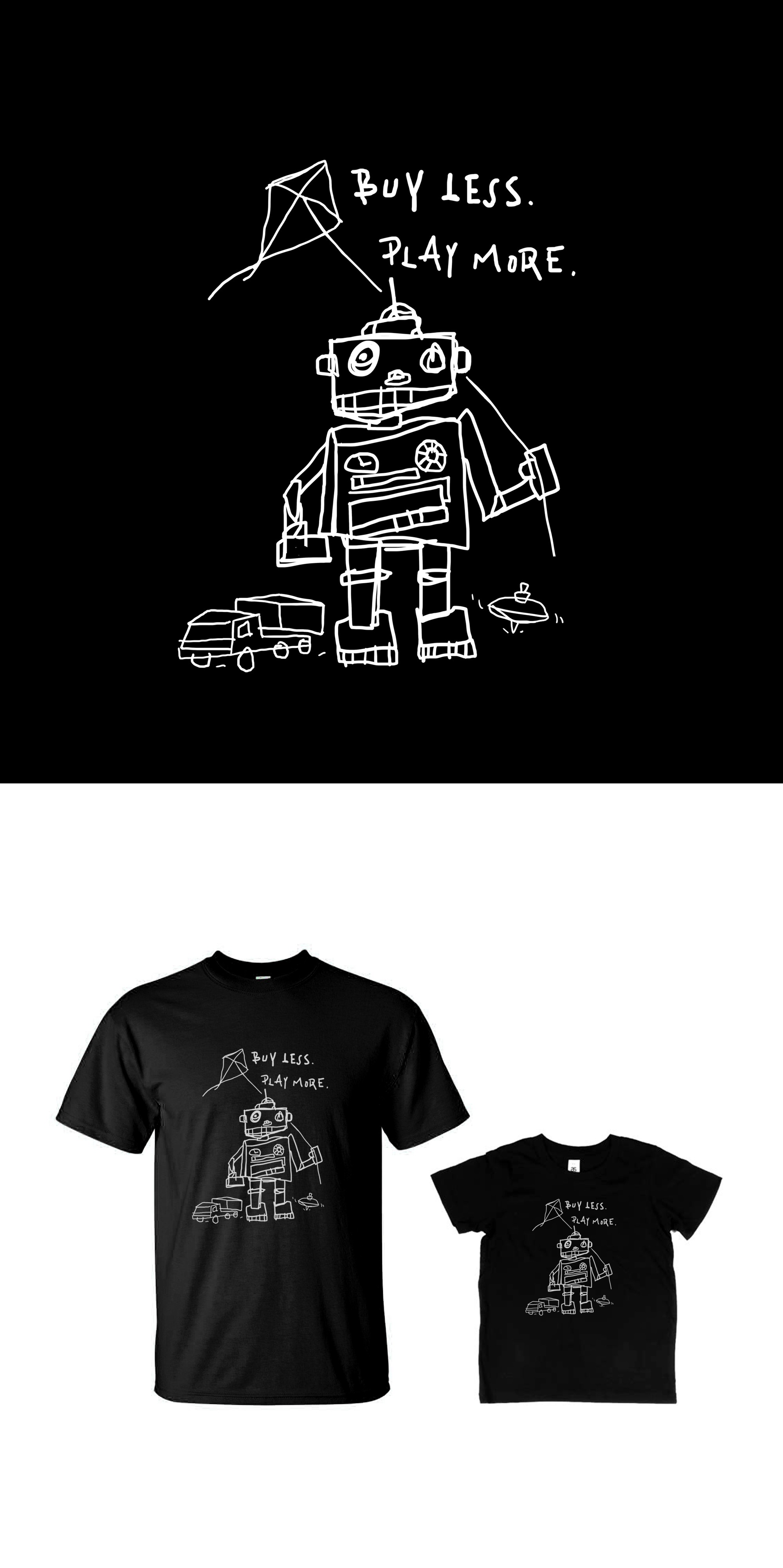 T-Shirt Design for TOYCYCLE