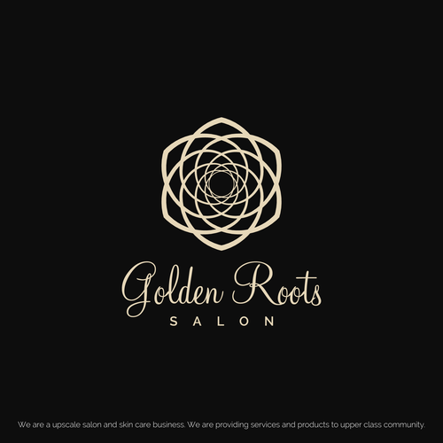 Golden ratio concept for a high end salon