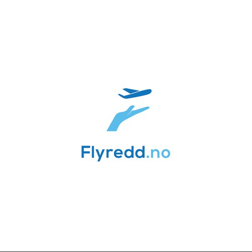 Logo that helps people overcome fear of flying.