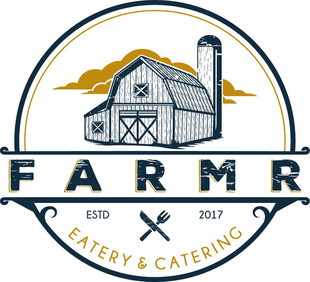Design a farmhouse meets city logo for a cool new restaurant