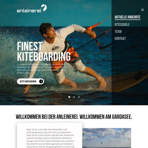 redesign kite course website