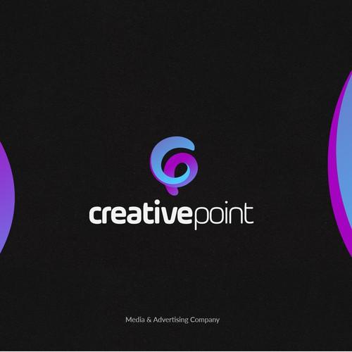 Logotype for Media & Advertising Company.
