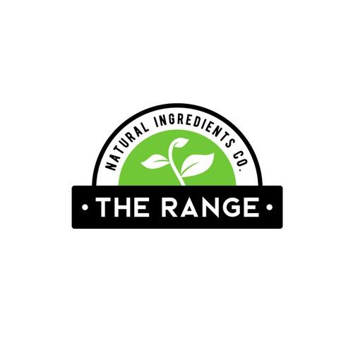 Badge logo for natural company