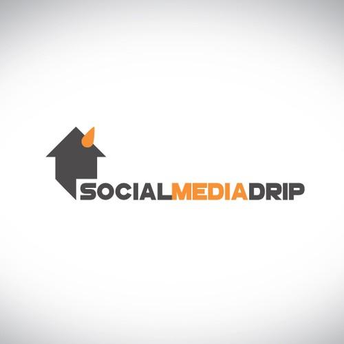Create a logo for Social Media Drip