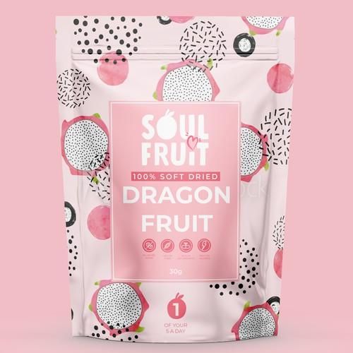 Soul Fruit Label Design