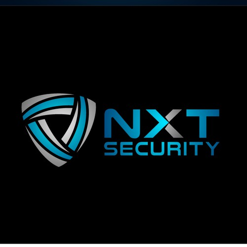 Sleek logo for a security company
