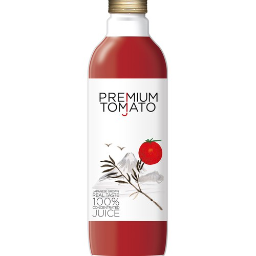 Japanese Grown Tomato Juice