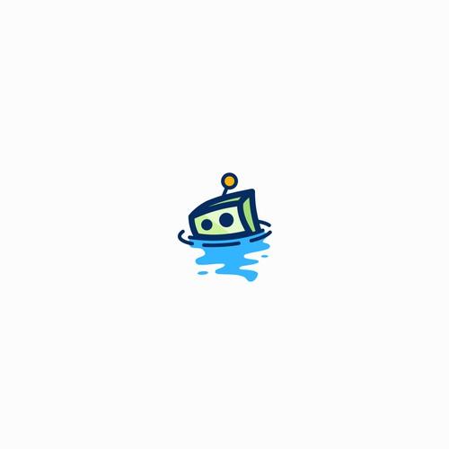 Playful Logo for FloodBot
