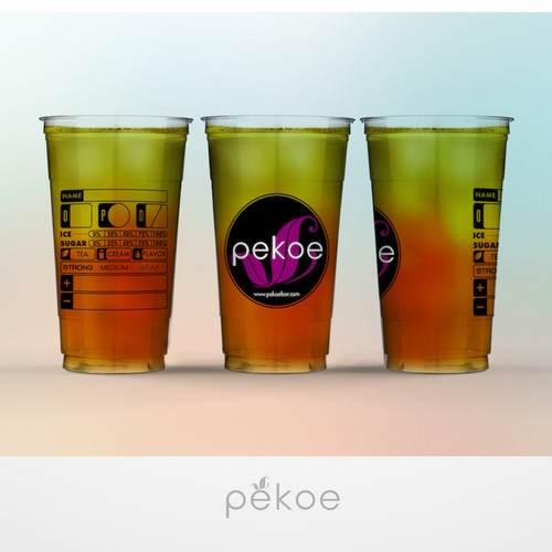 Pekoe Bar cup design
