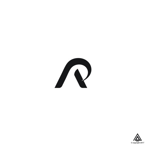 Monogram Logo of letter A and P