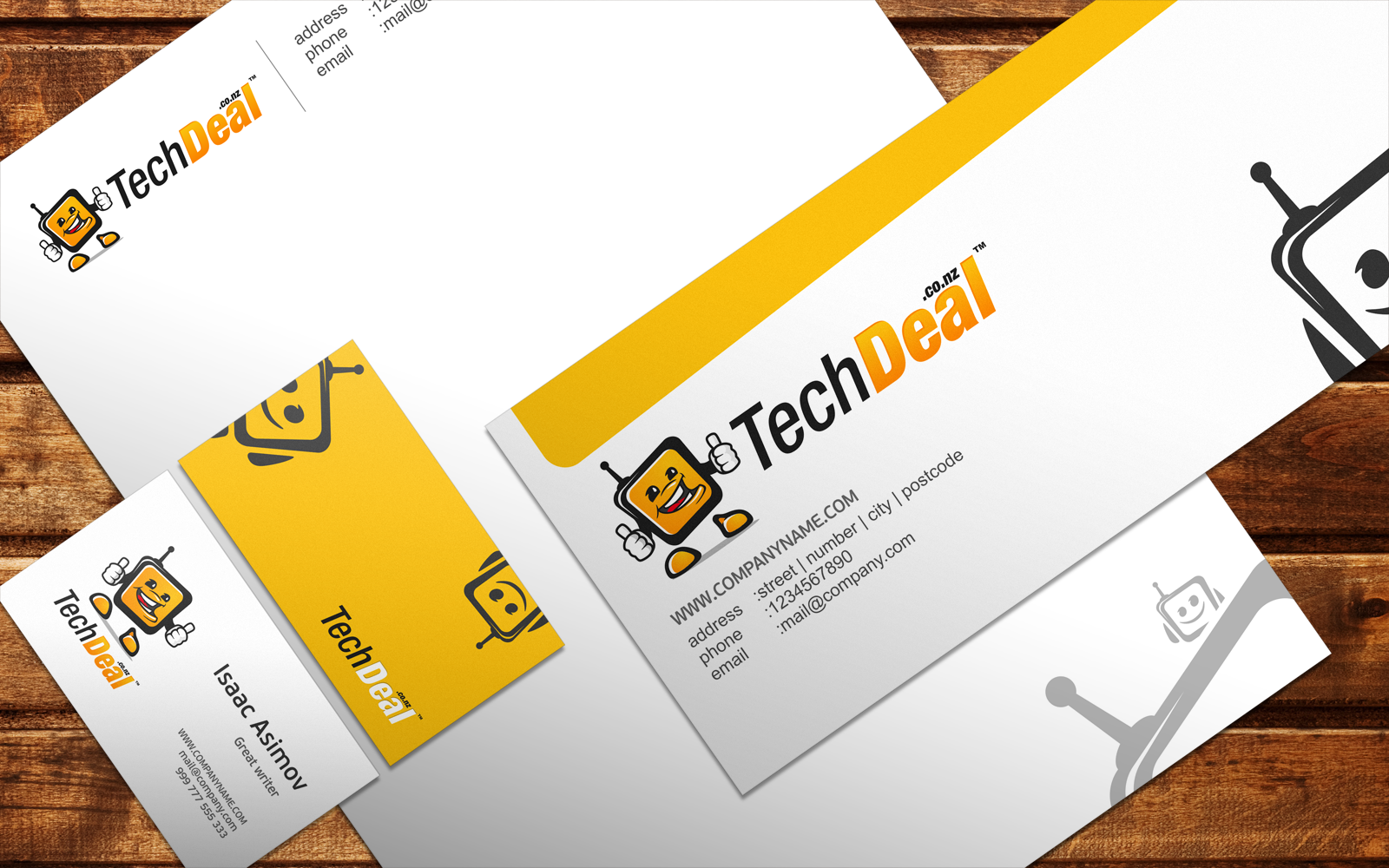 Help TechDeal.co.nz with a new logo