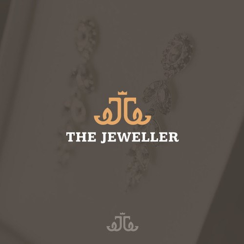 Elegant logo for online jeweler