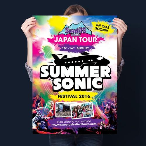 Poster for Summer Festival