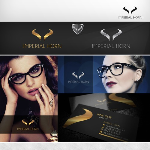 New logo for the world's finest horn eyewear collection.