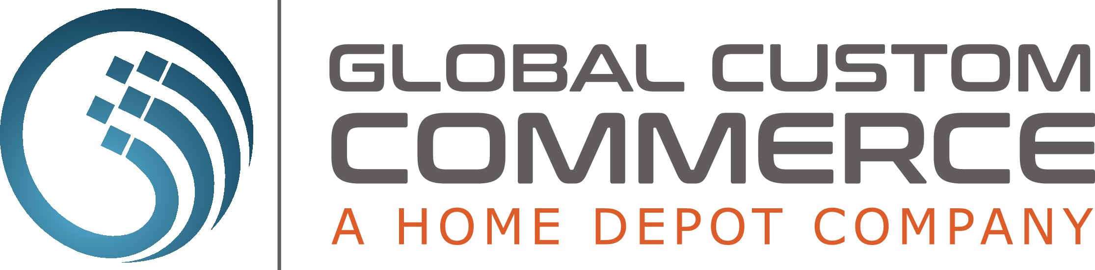 Create a captivating, futuristic modern logo for Global Custom Commerce - a Home Depot Company