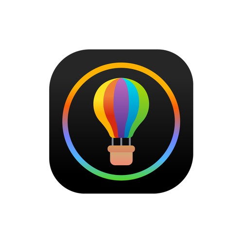 Catchy iOS app icon