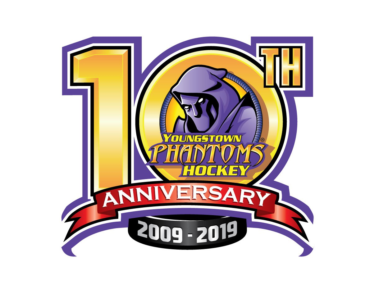 Phantoms 10th Anniversary Logo