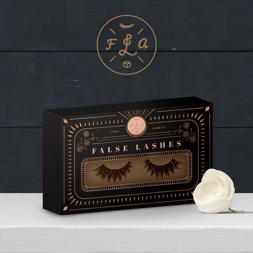 Box Design for False Lashes