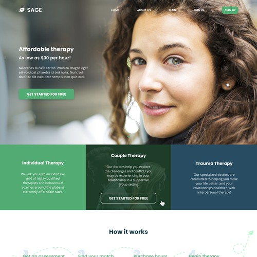 Clean, Modern Website Design