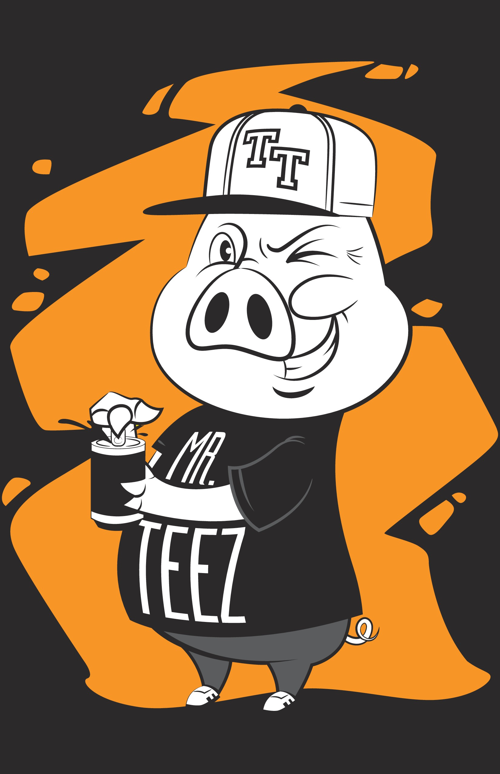 Teezerteez needs a character for its line  Playful and seductive