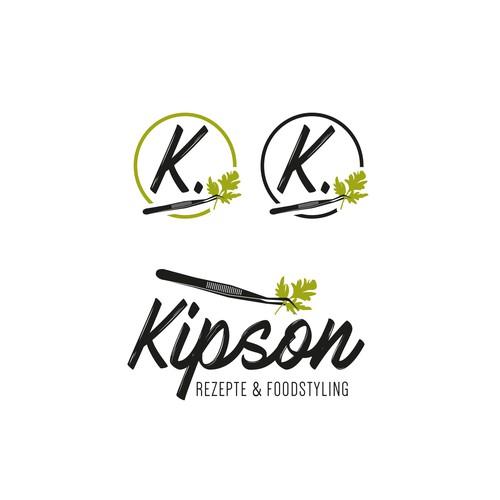 Logodesign Kipson Rezepe & Foodstyling